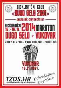 najava BK maraton Vukovar plakat
