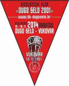najava BK maraton Vukovar zastavica