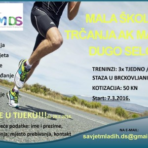 savjet mladih - škola trčanja