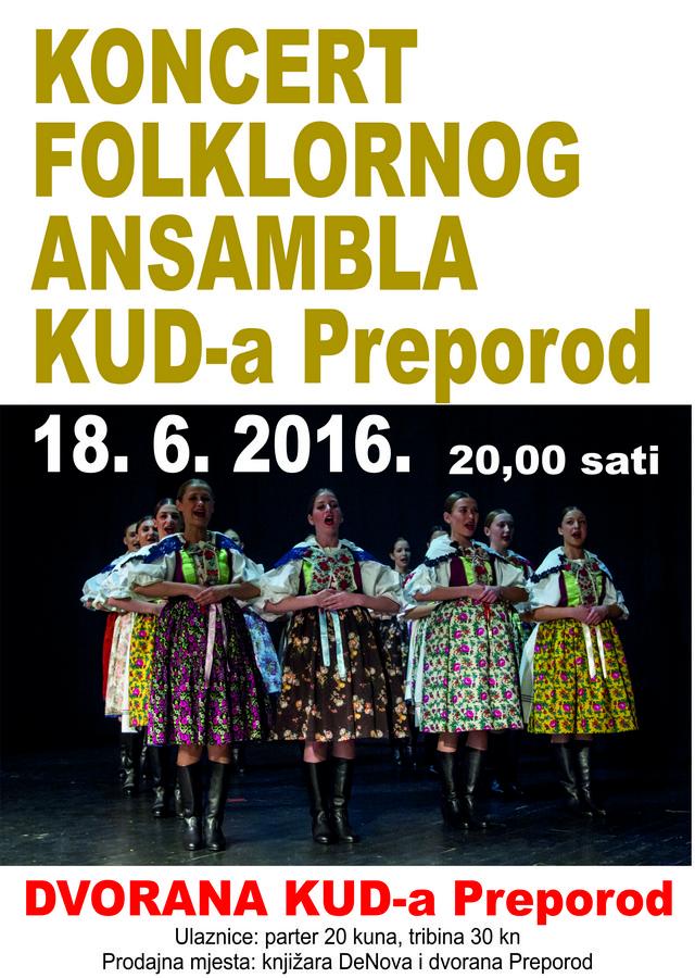 folklorni ansambl plakat